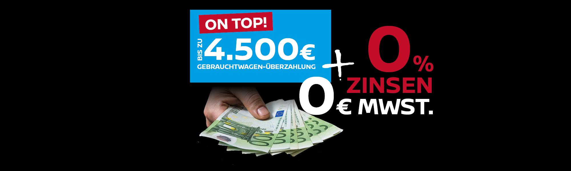 0% Finanzierung & 0€ Mwst – nur begrenzt gültig